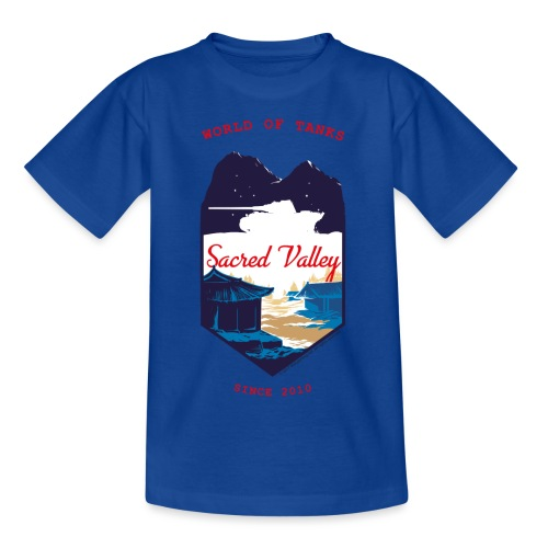 World of Tanks Sacred Valley - Teenage T-Shirt