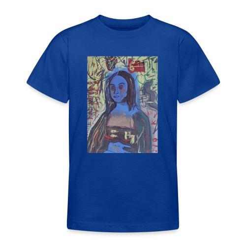 Gioconda omaggio Basquiat. Arte da indossare. - Maglietta per ragazzi