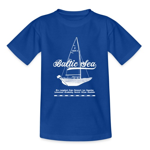 Baltic Sea Folkeboot - Teenager T-Shirt