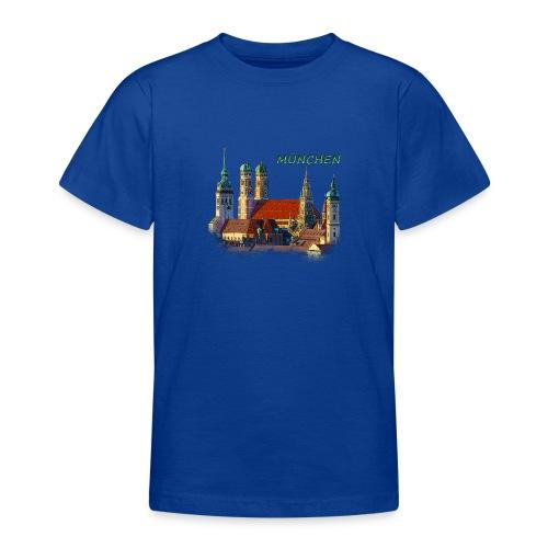 München Frauenkirche - Teenager T-Shirt