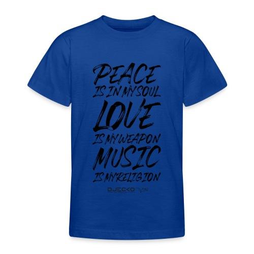Djecko blk - T-shirt Ado