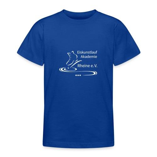 EARheine Logo weiss - Teenager T-Shirt