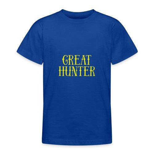 great hunter - Koszulka młodzieżowa