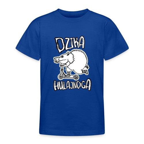 dzik na hulajnodze - Koszulka młodzieżowa