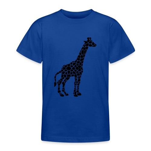 Giraffe (black) - Nuorten t-paita