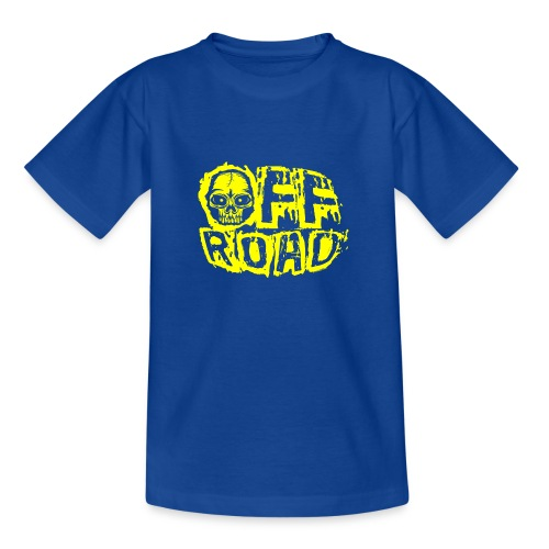 11A-12 OFF ROAD SKULL Textiles and gift products - Nuorten t-paita