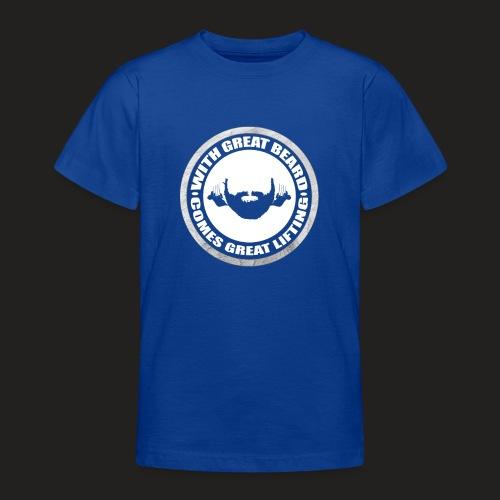 BEARD RESP - Teenage T-Shirt