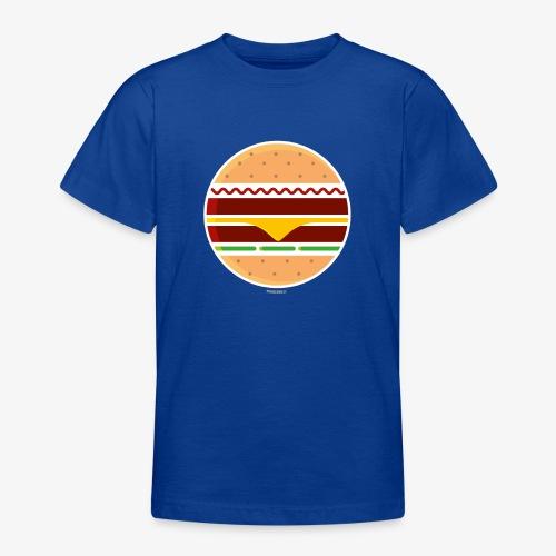 Circle Burger - Maglietta per ragazzi