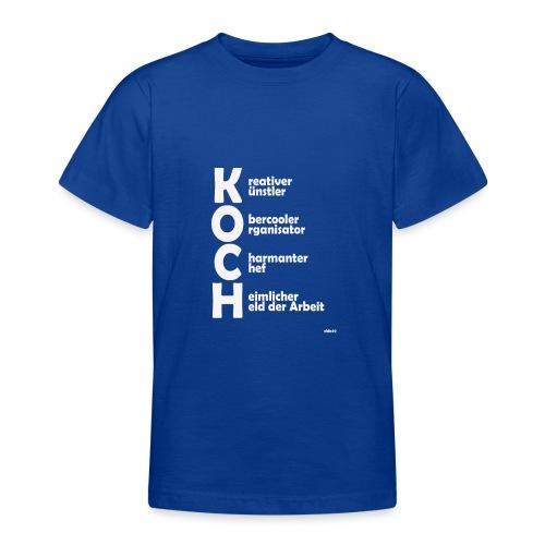 Was macht einen Koch aus? (Premium Shirt) - Teenager T-Shirt