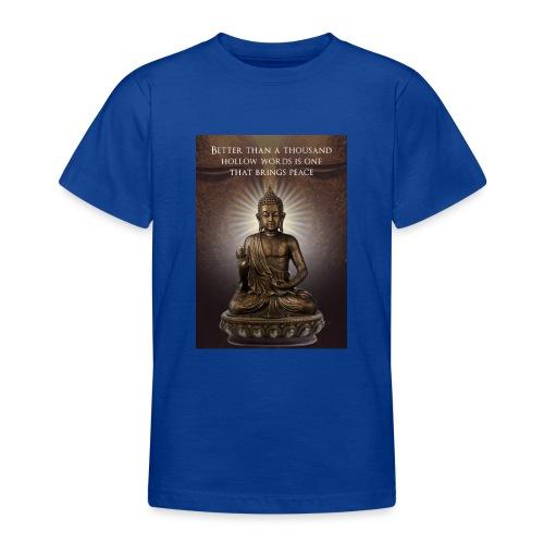 Buddha Wisdom - Teenage T-Shirt