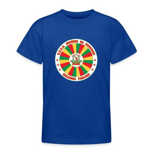 Papagaio drum logo - Nuorten t-paita