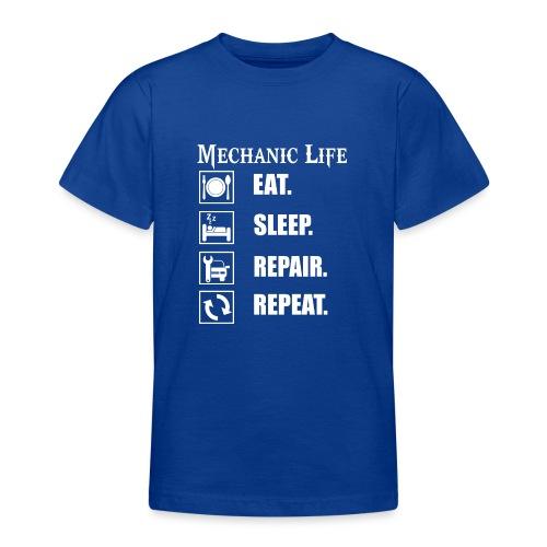Das Leben als Mechaniker ist hart! Witziges Design - Teenager T-Shirt