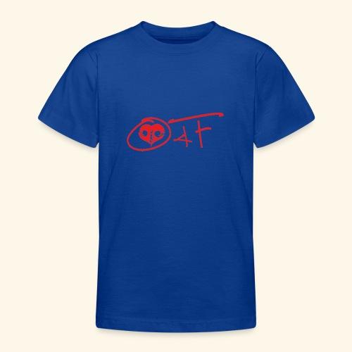 O4F ROSSO - Maglietta per ragazzi