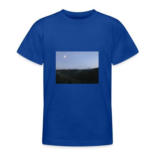 Paesaggio con luna - Maglietta per ragazzi
