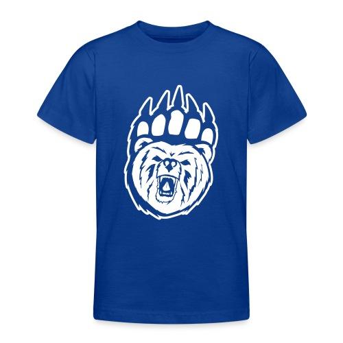 Dam T-shirt Svart/Rosa - T-shirt tonåring