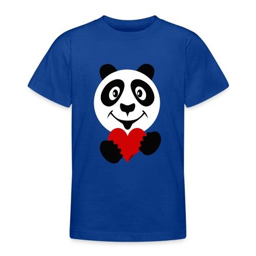 PANDA HEART Tekstiles and Gift products FP10-51A - Nuorten t-paita