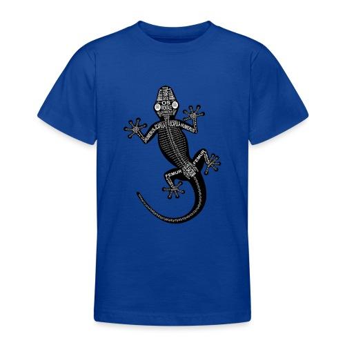Gecko-Skelett - Teenage T-Shirt