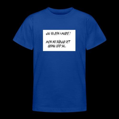 KNODD - T-shirt tonåring
