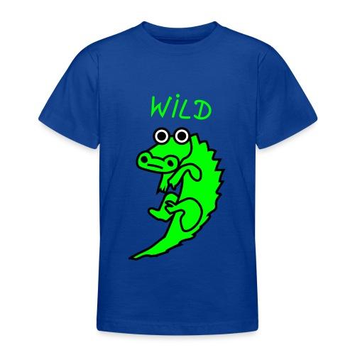 Wild-Krokodil - Teenager T-Shirt