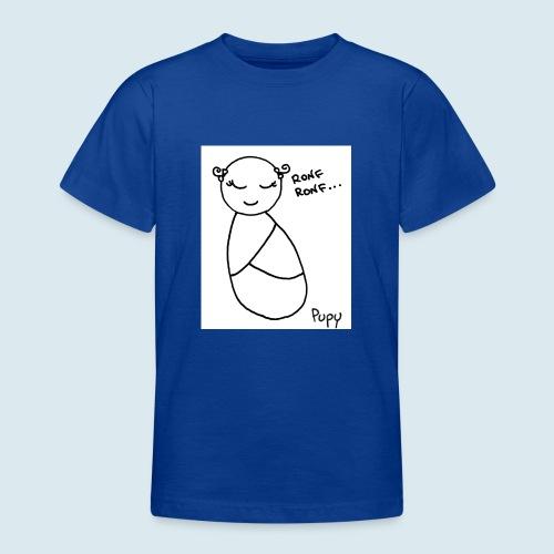 Pupy: ronf ronf... - girl - Maglietta per ragazzi