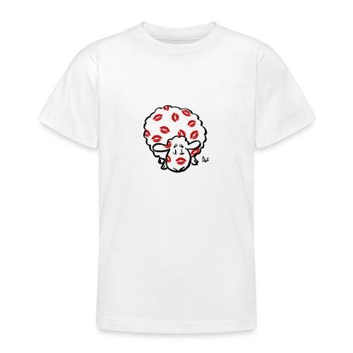 Kuss Mutterschaf - Teenager T-Shirt