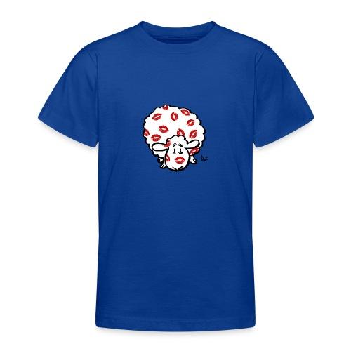 Kiss Ewe - T-skjorte for tenåringer
