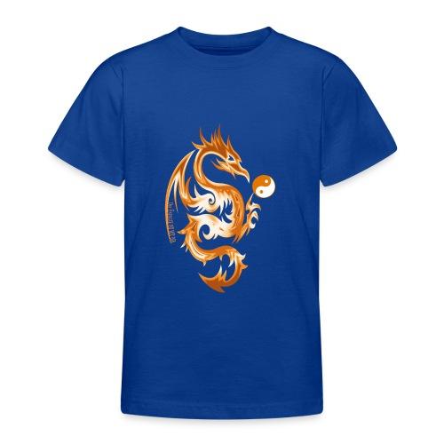 Der Drache spielt mit der Energie des Lebens. - Teenager T-Shirt