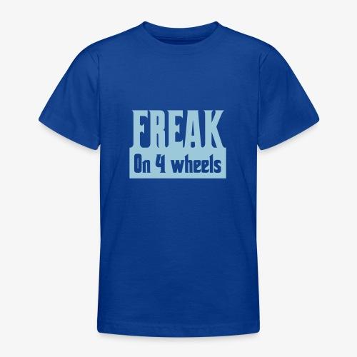 Gek op vier rolstoel wielen - Teenager T-shirt