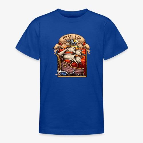 der Explorer - Teenager T-Shirt