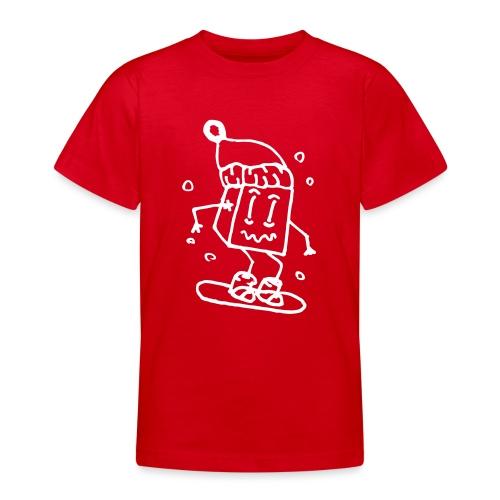 snowboarding - Teenage T-Shirt