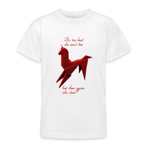 UnicornioBR2 - Camiseta adolescente