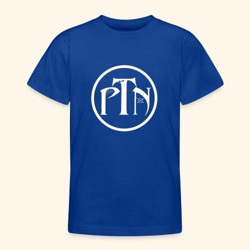 PTN-Music Logo Weiss - Teenager T-Shirt