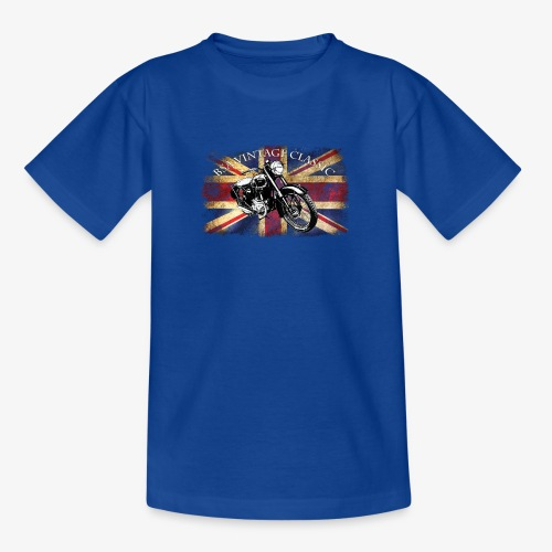 Vintage famous Brittish BSA motorcycle icon - Teenage T-Shirt