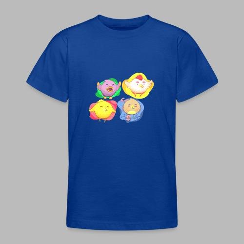 cute birds, lindas aves divertidoa - Camiseta adolescente