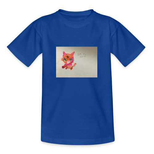Little pet shop fox cat - Teenage T-Shirt