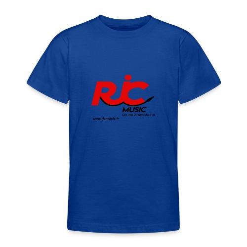 RJC Music avec site - T-shirt Ado