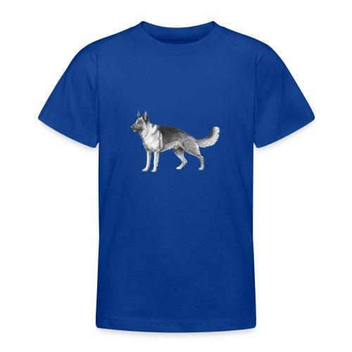 German shepherd schæfer ink - Teenager-T-shirt
