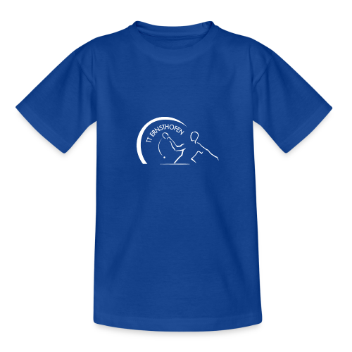 TTE Logo Weiss - Teenager T-Shirt