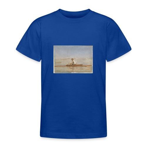 John Biglin in a Single Scull - Thomas Eakins - T-shirt Ado