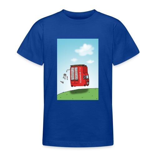 Feuerwehrwagen - Teenager T-Shirt