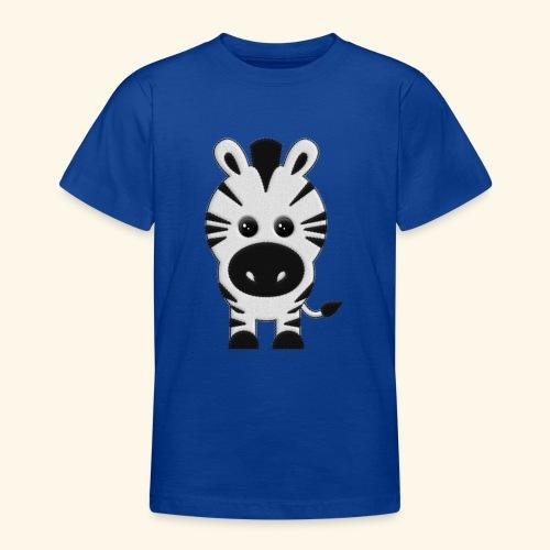Cebra de peluche - Camiseta adolescente