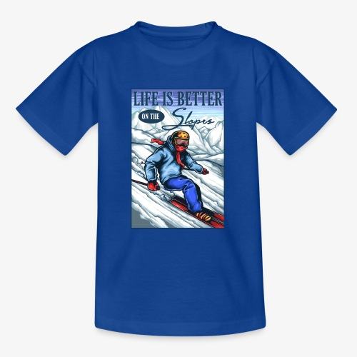 Ski Life - T-shirt Ado