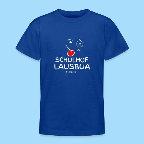 Schulhoflausbua - Teenager T-Shirt