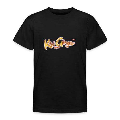 patame Kiki und Ginger Logo - Teenager T-Shirt