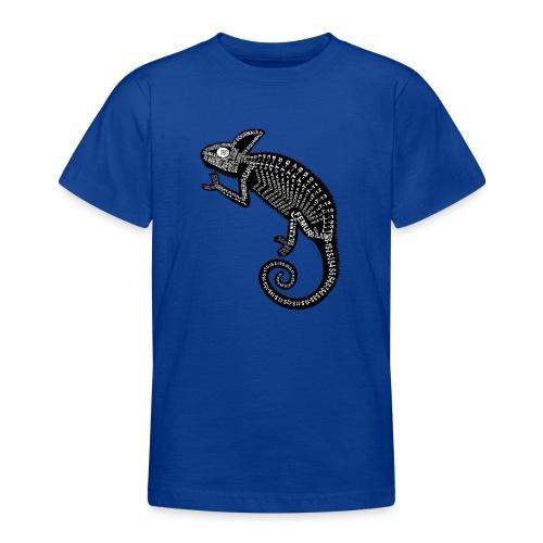 Chameleon Skeleton - Teenage T-Shirt