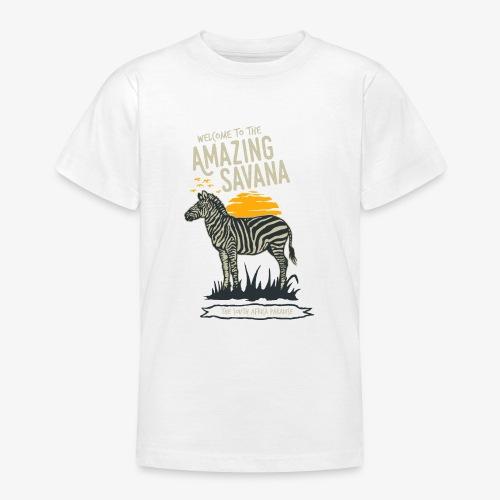 Zèbre - T-shirt Ado