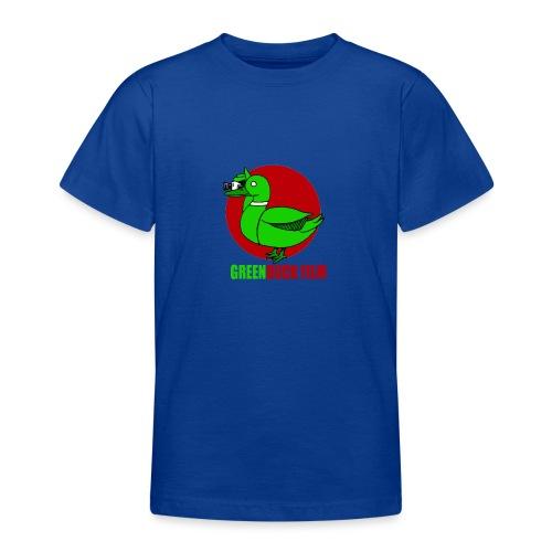 Greenduck Film Red Sun Logo - Teenager-T-shirt
