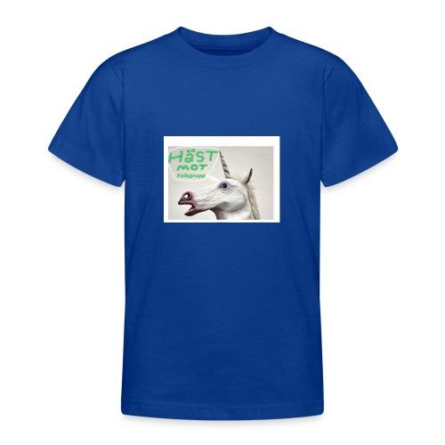 haest mot folkgrupp - T-shirt tonåring