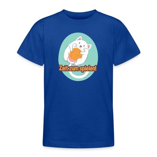 Zeit zum spielen - Teenager T-Shirt