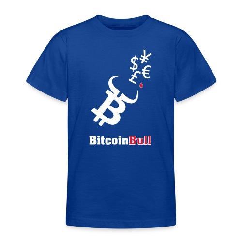 BitcoinBull - Camiseta adolescente